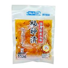 国産野菜使用福神漬 83円(税抜)