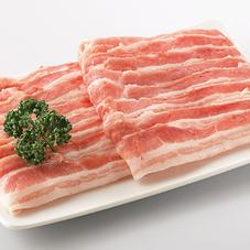 国産豚肉ばらうすぎり 167円(税抜)
