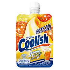 ロッテ クーリッシュ まる搾りオレンジソーダ 89円(税抜)