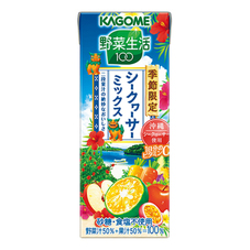 カゴメ 野菜生活100 シークヮーサーミックス 81円(税抜)