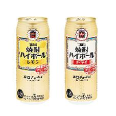 焼酎ハイボール各種 138円(税抜)