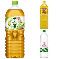 十六茶 三ツ矢サイダー バヤリースオレンジ 108円