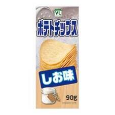 ポテトチップス しお 108円