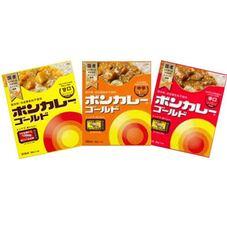 ボンカレー(甘口・中辛・辛口)各種 97円(税抜)