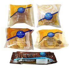 牛乳と卵の洋生菓子各種 77円(税抜)