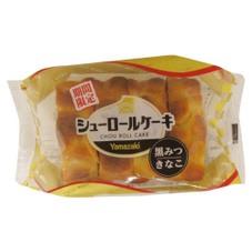 シューロールケーキ     (黒みつきなこ) 108円