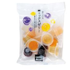 果汁100% ミックスゼリー 298円(税抜)