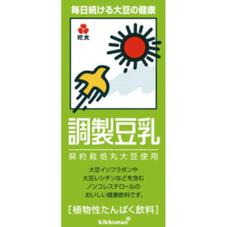調整豆乳 168円(税抜)