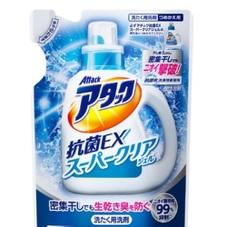 アタック抗菌EXスーパークリアジェル詰替 177円(税抜)