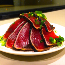 生食用かつおたたきスライス 398円(税抜)