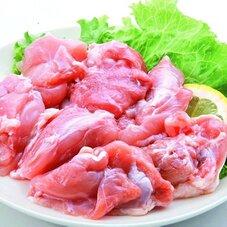 鶏モモ切身 128円(税抜)