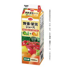野菜・果実ジュース 138円(税抜)