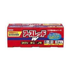 アースレッドW 6-8畳用 3P 1,480円(税抜)