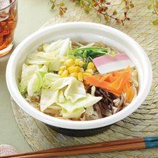 1/2日分の野菜が摂れるちゃんぽん 430円