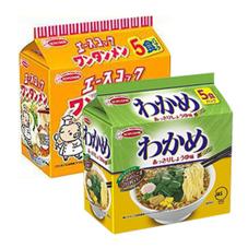 ワンタンメン・わかめ醤油味 267円(税抜)