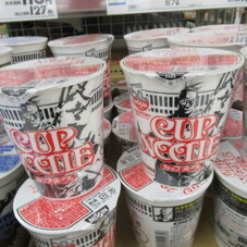 日清食品60周年記念パッケージ カップヌードル 118円(税抜)