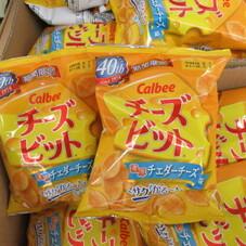 チーズビット 濃厚チェダーチーズ味 98円(税抜)