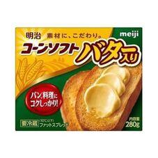 コーンソフトバター入り 168円(税抜)
