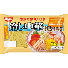 家族のおいしい3食冷し中華 旨味ごまだれ 268円(税抜)
