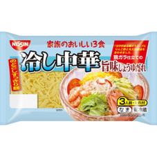 家族のおいしい3食冷し中華 旨味しょうゆだれ 268円(税抜)