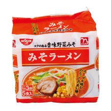 みそラーメン 198円(税抜)