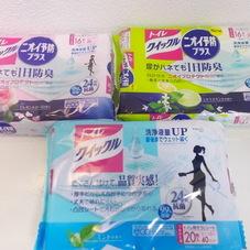 トイレクイックル詰替用各種 268円(税抜)