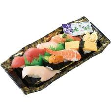 魚屋鮨(うに入り・生ネタ増量) 500円(税抜)