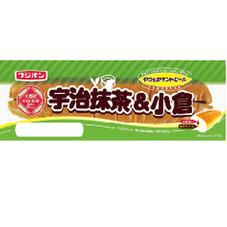 サンドロール宇治抹茶&小倉ロール 68円(税抜)