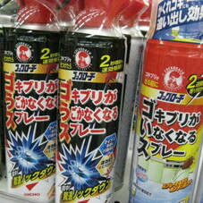 ゴキブリが動かなくなるスプレー 798円(税抜)