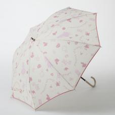 晴雨兼用傘50cmアリス ピンク/アイボリー 980円