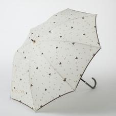 晴雨兼用傘50cmミッキー ブラウン/アイボリー 980円
