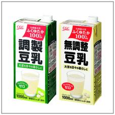国産大豆使用豆乳 158円