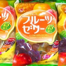フルーツゼリー 187円(税抜)