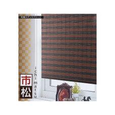 新和風スクリーン 市松 BK 2,180円
