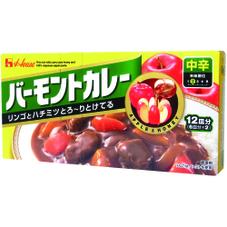 バーモントカレー・中辛 198円(税抜)