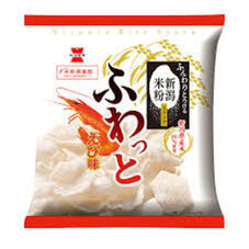 ふわっと やわらかえび味・枝豆味・明太マヨ味 78円(税抜)