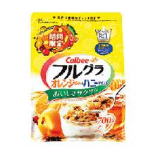 フルグラ オレンジピール&ハニーテイスト 598円(税抜)