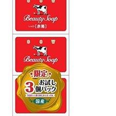 牛乳石鹸赤箱 169円(税抜)