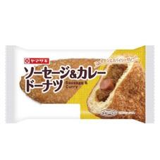 ソーセージ&カレードーナツ 108円