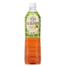 紅茶の時間 レモン低糖 108円