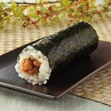 手巻寿司 キムチ納豆 160円