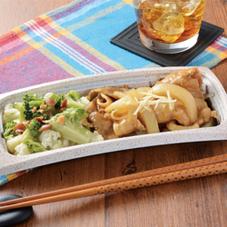 豚生姜焼き&温野菜 399円