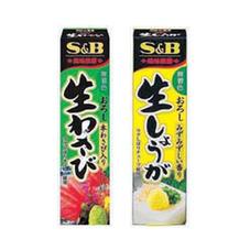 風味推薦 おろし生わさび(43g)・生しょうが(40g) 79円(税抜)