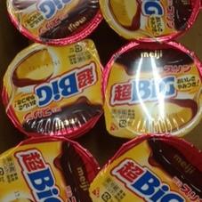 明治プリン超BIG 74円(税抜)