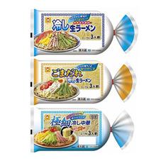 マルちゃん冷し生ラーメン各種 157円(税抜)