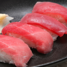 本まぐろづくし寿司 1,000円(税抜)