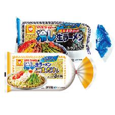 マルちゃんの冷し生ラーメン マルちゃんの冷し生ラーメンごまだれ 178円(税抜)