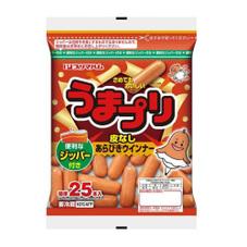 うまプリ!皮なしあらびきウインナー 197円(税抜)