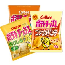 ポテトチップス各種 67円(税抜)