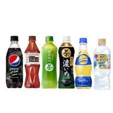 ペットボトル飲料 各種 77円(税抜)